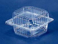 Одноразовый контейнер для продуктов с крышкой ПС-8 (V500мл\110*105*58) (50 шт/пач)