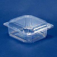 Одноразовый контейнер для продуктов с крышкой ПС-9 (V750мл\ 135*130*60) (50 шт/пач)