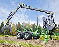 Лесовозный прицеп  FARMA Generation 2  T 12 G2