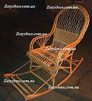 Гойдалка крісло ручної роботи з лози