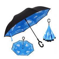 Зонт с обратным механизмом UP-brella (разные цвета)