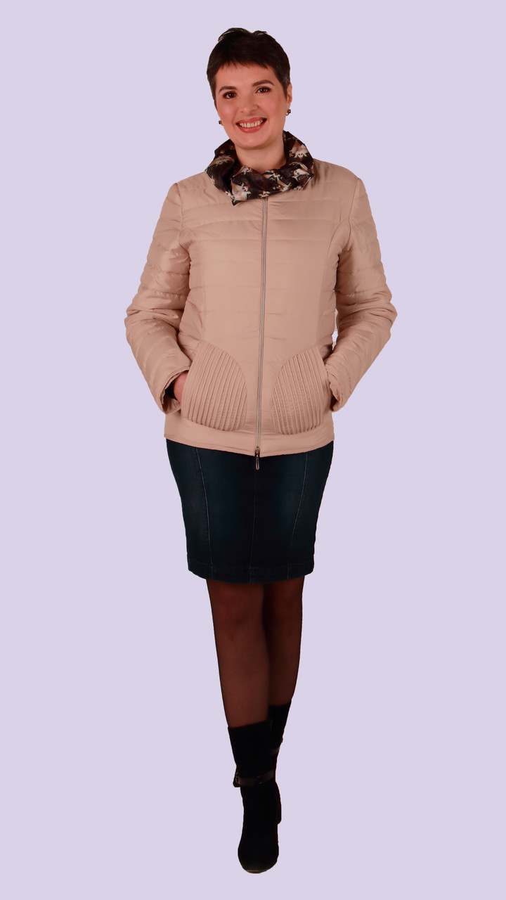 Короткая весенняя куртка женская от производителя