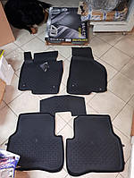 Коврики в салон 4D резиновые Volkswagen Passat 2015 VW B6, 2005-2011   Качество!