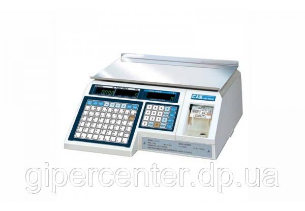 Весы торговые CAS LP в. 1.6 (RS-232) до 6 кг; с термопечатью, без стойки