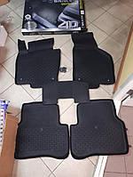 Коврики в салон 4D резиновые Volkswagen Passat 2015 VW B7, 2010-2015   Качество!