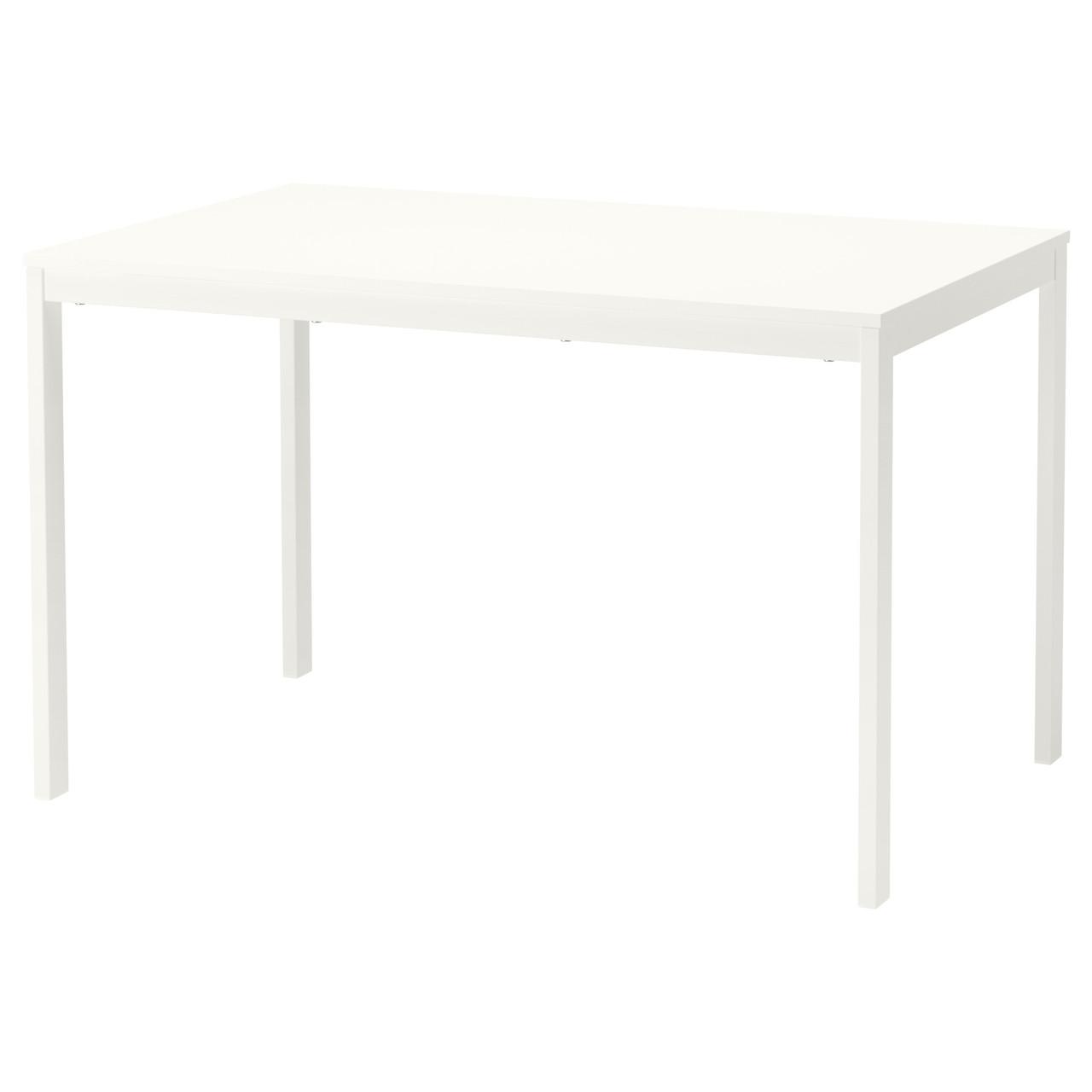 ВАНГСТА Раздвижной стол, белый, 120/180x75 см 80361564 ИКЕА, IKEA, VANGSTA