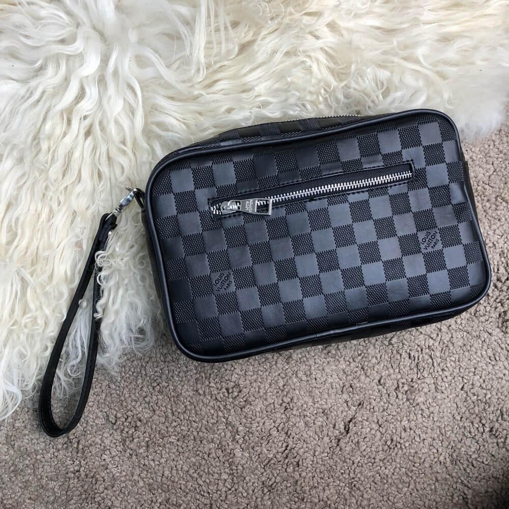 Мужской клатч Louis Vuitton Kasai Damier Infini  продажа, цена в ... 62aafdf5edb