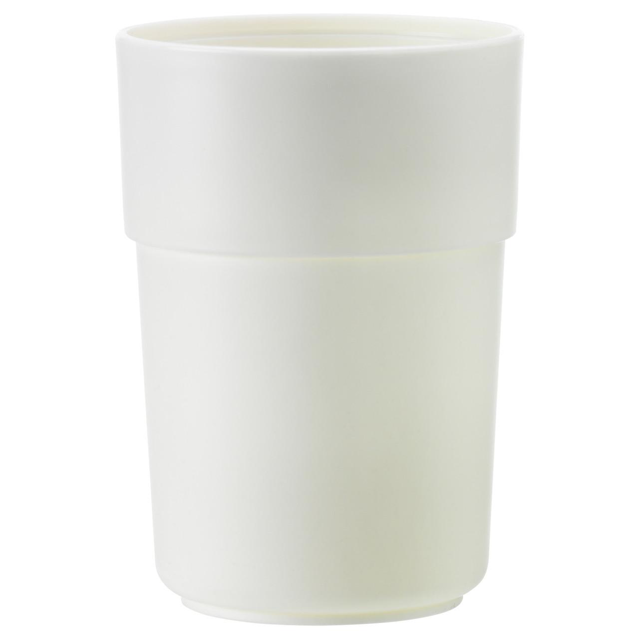 ЭНУДДЭН Стакан для зубных щеток, белый 00263812 ИКЕА, IKEA, ENUDDEN