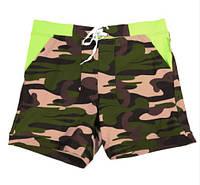 Купальные шорты мужские Taddlee Camouflage Green лот 2303