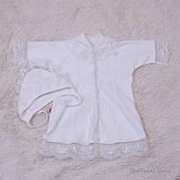 Крестильная рубашка Анна (айвори)