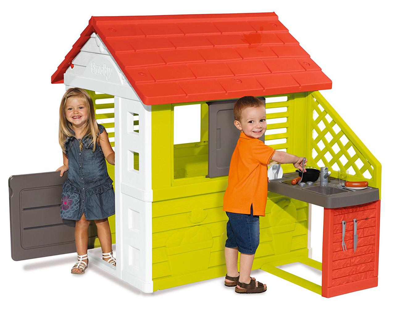 Домик детский с летней кухней Smoby 810702