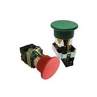 Кнопки управления нажимные без фиксации xb2-вс (гриб малый) / xb2-br (гриб большой)