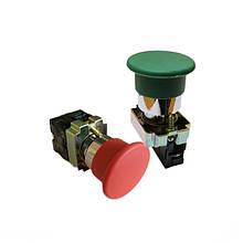 Кнопки управління натискні без фіксації XB2-BC (гриб малий) / XB2-BR (гриб великий)