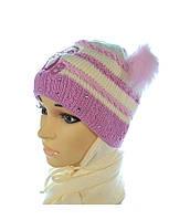 Детский комплект шапка и шарф