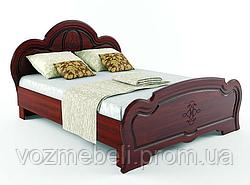 Кровать Каролина вишня