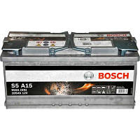 Аккумулятор BOSCH Silver AGM S5 105 Ah 950A 0092S5A150 START-STOP, фото 1