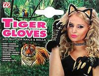 Перчатки тигрицы с когтями