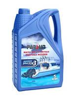 Масло Парсун TC-w3 для 2х тактных лодочных моторов 5 литров