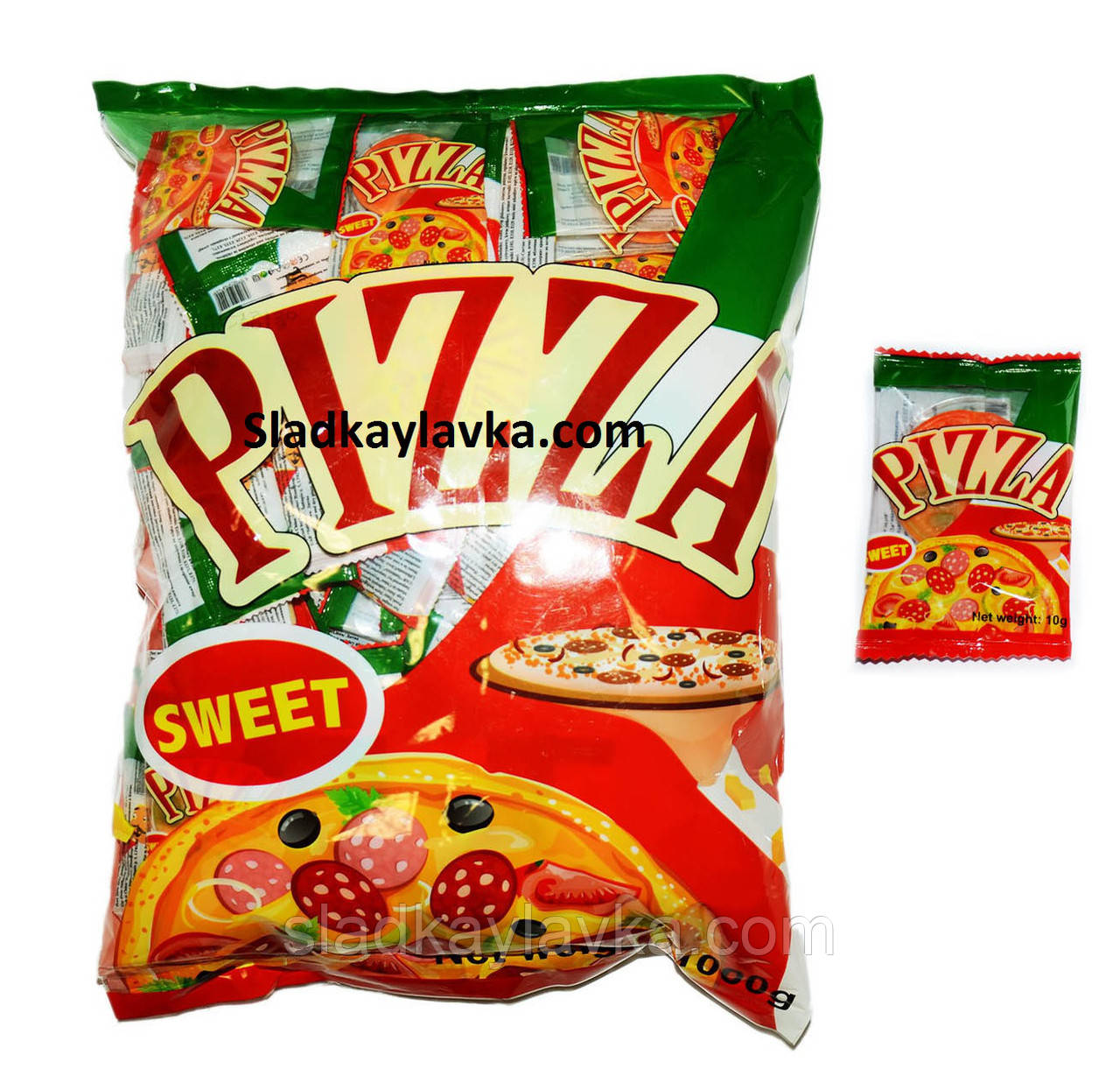 Желейна цукерка Pizza Bag 100 шт (Китай)
