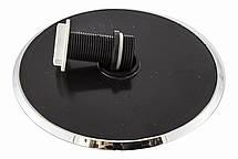 Лейка круглая, потолочная для душевого бокса диаметром  160 мм. ( L-160\02 ) со сьемным штоком, пластиковая., фото 2