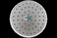 Лейка круглая, потолочная для душевого бокса диаметром  160 мм. ( L-160\02 ) со сьемным штоком, пластиковая., фото 3