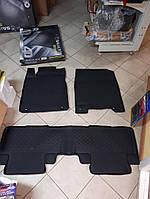 Коврики в салон 4D резиновые Honda CR-V IV 2012+, Качество!