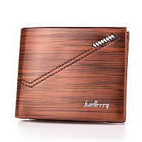Мужской кошелек BAELLERRY Fashion Young Style Мужской кожаный молодежный кошелек Short Коричневый (SUN0242), фото 1