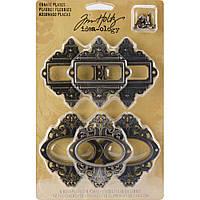 Набір рамок - Antique Nickel, Brass & Copper - Tim Holtz - 2.25X2.5