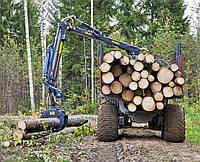 Лесовозный прицеп  FARMA Generation 2  T 16 4WD G2