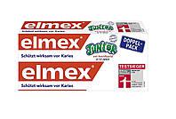 Зубная паста против кариеса для детей Elmex Junior DOPPEL-PACK Для детей от 6 до 12 лет 2х75 мл