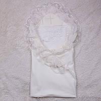 Крестильное полотенце Любовь (молоко), фото 1