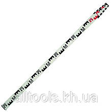 Рейка телескопическая нивелирная 5м для оптических нивелиров INTERTOOL MT-3014