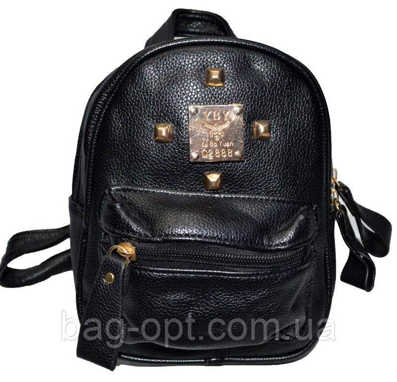 Жіночий рюкзак міський (21x19x9)