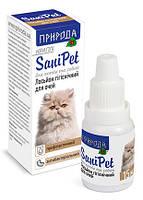 """Лосьон для глаз """"SaniPet"""" капли 15 мл (для кошек и собак)  """"Природа"""""""