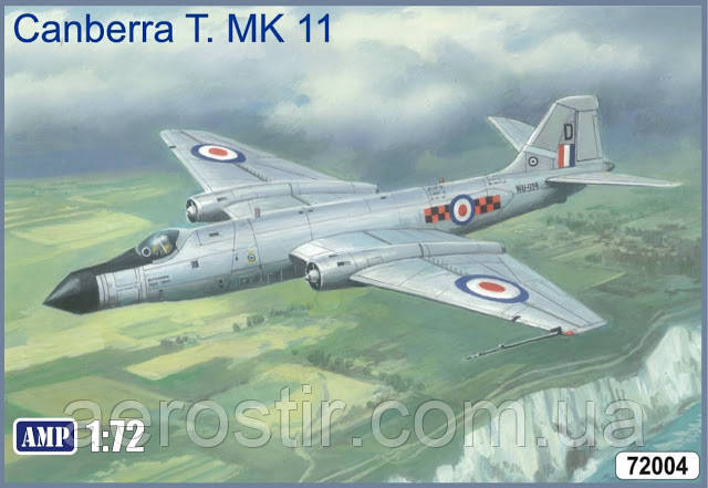 AMP 72004 CANBERRA T.11 1/72
