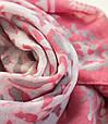 Женский шарф 180 на 90 см. dress А0023_серо-роз, фото 3