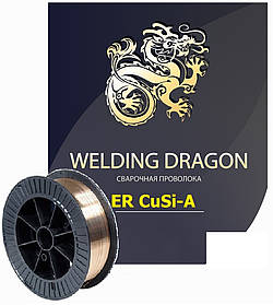 Проволока Welding Dragon ErCuSi-A 1.0 мм 5 кг (D200)