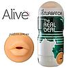 Мастурбатор ротик Alive Super Realistic Oral