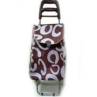 Тачка сумка с колесиками кравчучка 96см MH-1900 Brown, фото 1