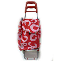 Тачка сумка с колесиками кравчучка 96см MH-1900 Red
