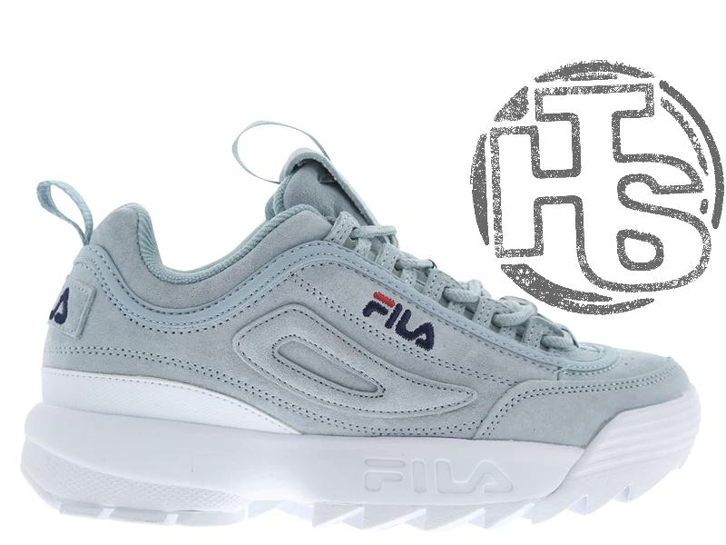 Женские кроссовки Fila Disruptor II 2 Grey/White