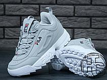 Женские кроссовки Fila Disruptor II 2 Grey/White, фото 2