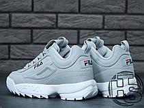 Женские кроссовки Fila Disruptor II 2 Grey/White, фото 3