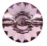 Пуговицы Swarovski 3015 Light Amethyst, фото 1