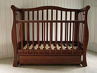 Детская кроватка Viva орех
