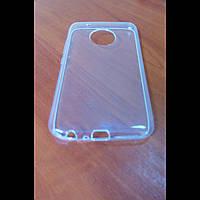 Чехол Motorola G5 Plus прозрачный