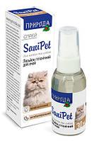 """Лосьон для глаз """"SaniPet"""" спрей 30 мл (для кошек и собак)  """"Природа"""""""