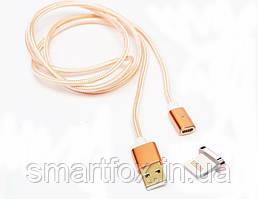 Магнитный кабель Iphone 5/6 (тканевый)