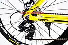"Горный велосипед Winner Impulse 27.5 дюймов 17"" желтый, фото 9"
