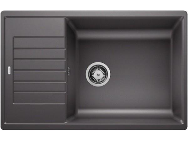 Гранитная кухонная мойка Blanco ZIA XL 6S COMPACT темная скала